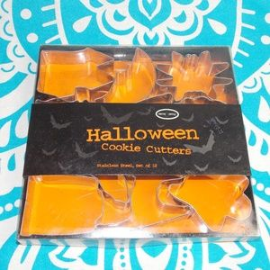 10pc Stainless Steel Halloween Cookie Cutters NWT